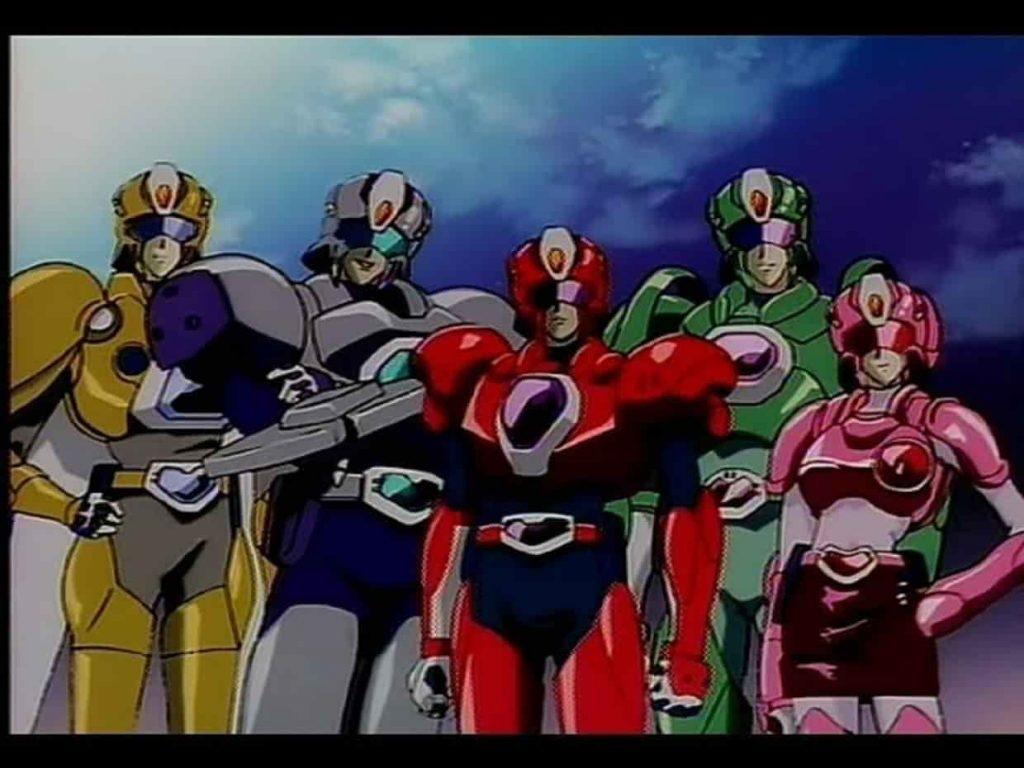 The Special Duty Combat Unit Shinesman (Tokumu Sentai Shinesman)