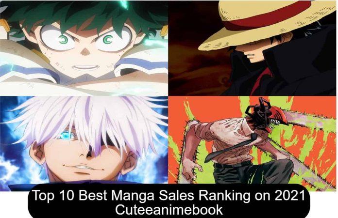 Top 10 Best Manga Sales Ranking on 2021